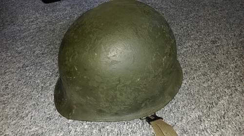 Chilean M1 helmet