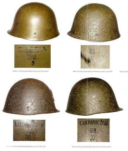 new book on Polish helmet