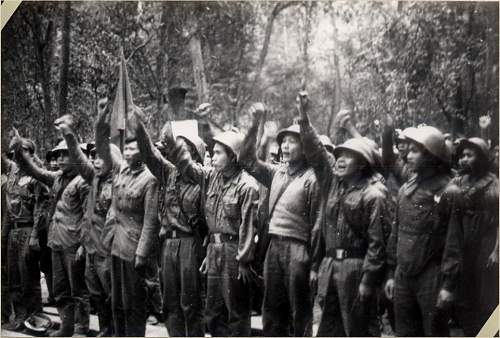 PAVN use of the M56 steel helmet during Vietnam War Rare photos