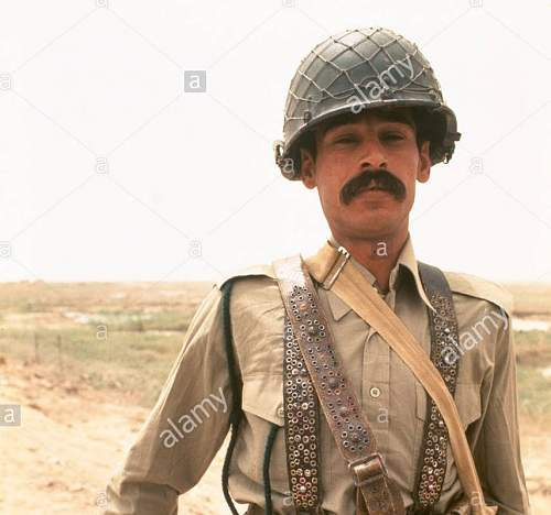Iraqi  helmet kuwait battlefeild pick up