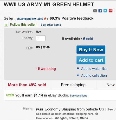 M1 helmet clone