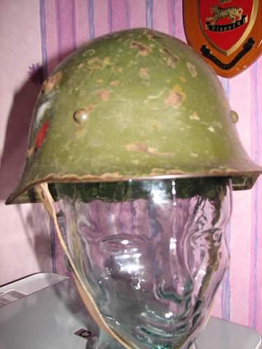 Bulgarian M36 helmet