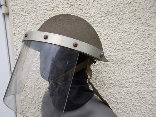 Northern Ireland British Mk IV helmet