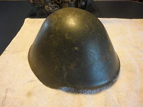 East German NVA M56 helmets