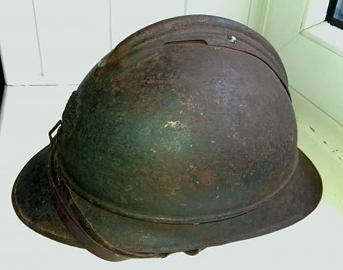 Genuine WW1 French adrian?