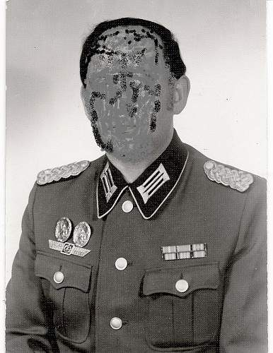 Searching for an early DDR NVA officers tunic