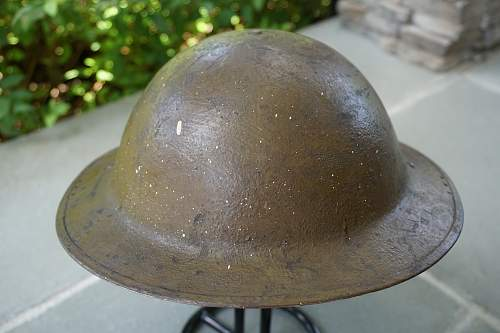 US M1917 5th Division Flashed Brodie