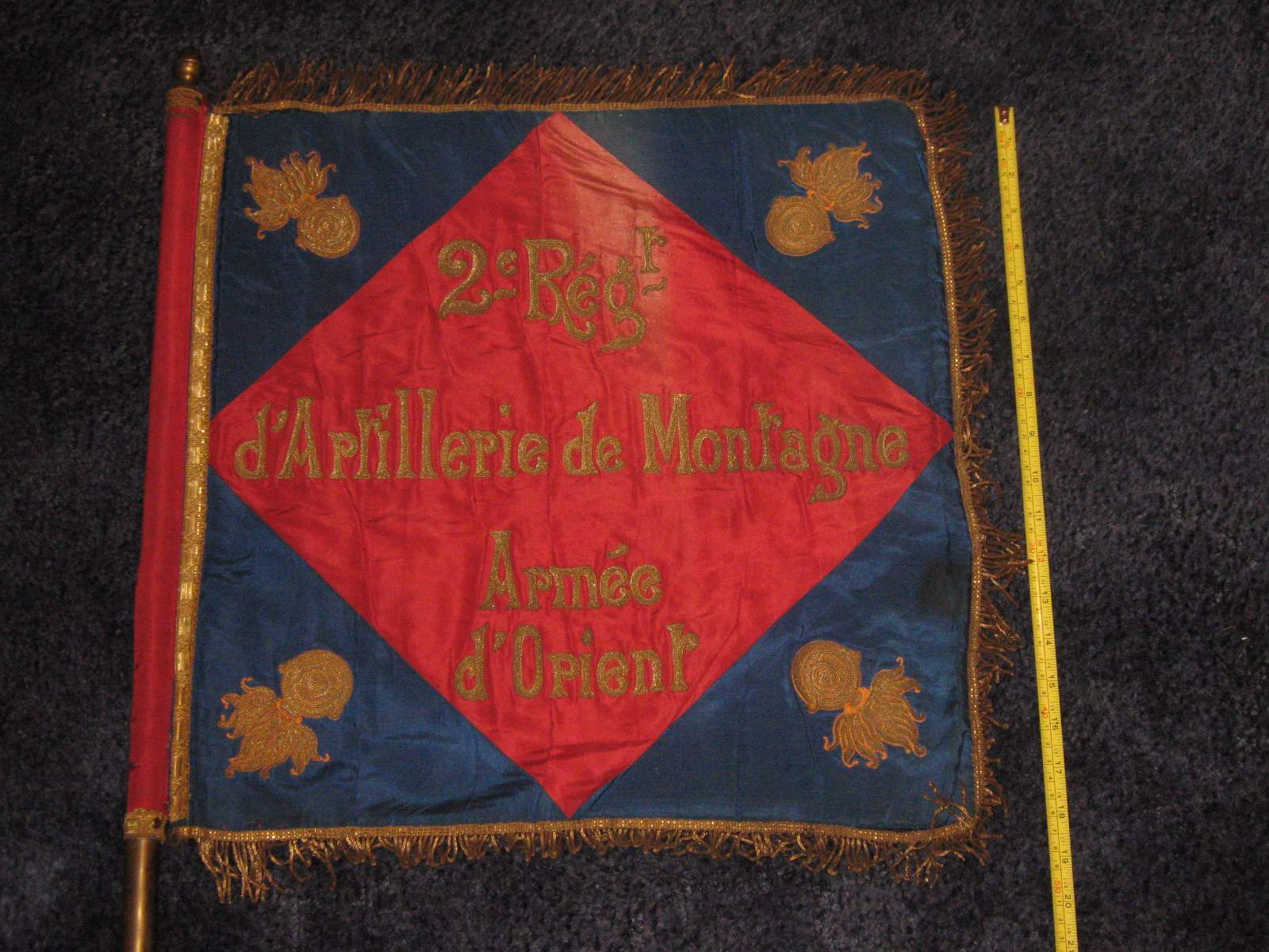 Ww1 french regimental flag