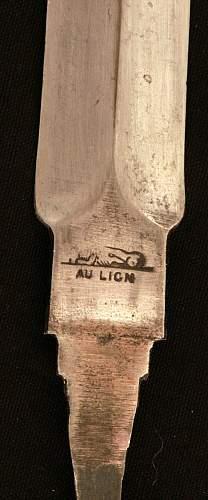 Trench Knife Blade-AU LION