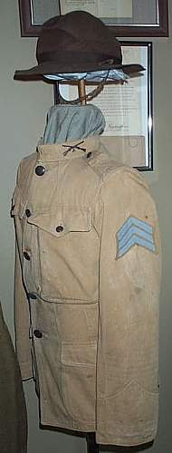 WW1 82nd and Mexican Border Uniforms of Walter Bragg Smith