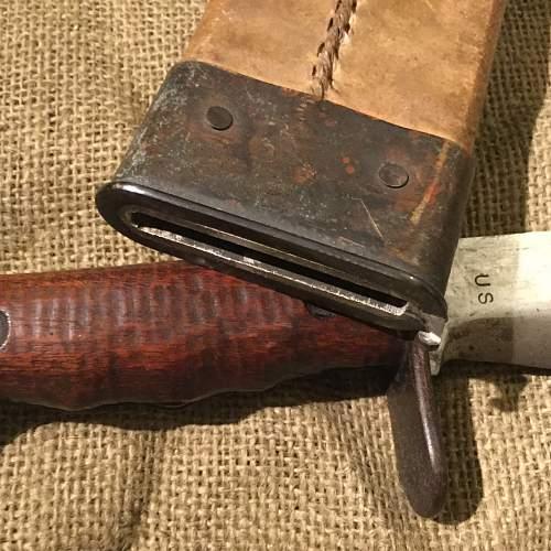 WW1 American Bolo knife