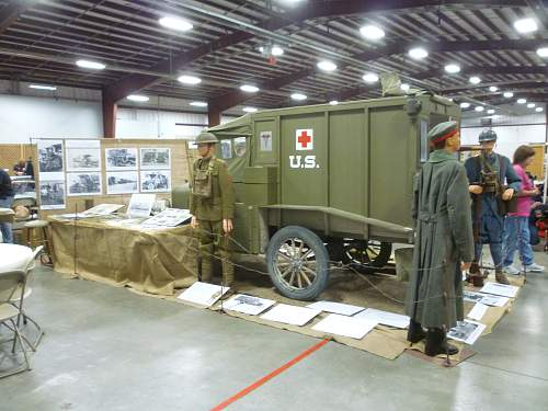 Ford M1917 ambulance