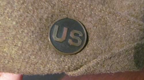 WW1 US OS cap