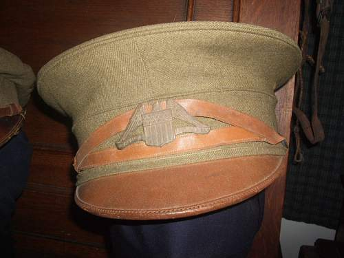 WWI American Field Service Drivers Cap