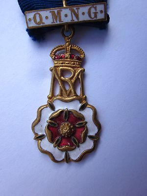 Queen Mary (mary of teck) royal cypher QMNG