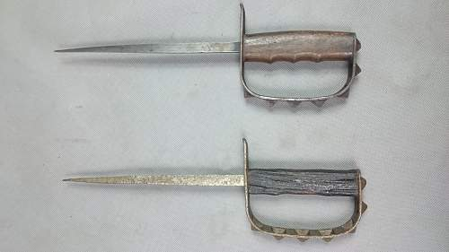 is it original U.S. M-1917 trench knives?