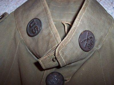 Pre-ww1? cotton first sergeant uniform