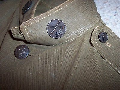Pre-ww1? cotton first sergeant uniform