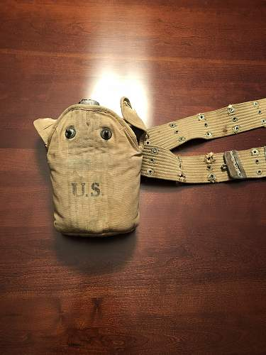 1918 US Canteen with Cover