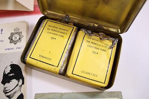 Princess Mary's gift tin 1914