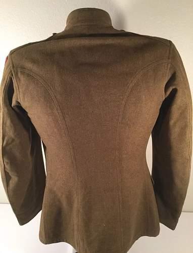 WW1 US Army Uniform