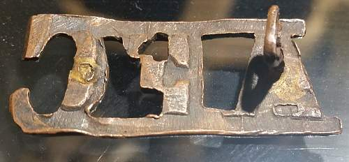 WW1 Australian Flying Corps Shoulder Title - Information Needed