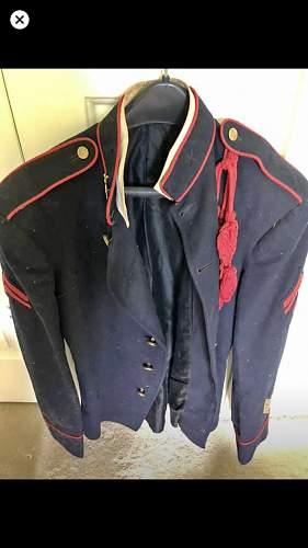 1902 US Army Artiller Tunic, Hat, Belt Set, Worth the trip?
