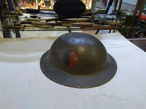 Flash identification WW1 Brodie