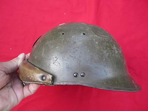 WWI French Tankers Helmet