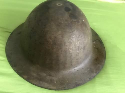Brodie MK1 helmet made by F/S without brim