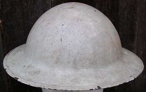 WWI MK1 Helmet British / Canadian / or ???