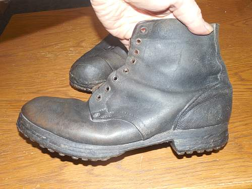 Unknown WWI? hobnail boots
