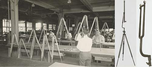 Tripod for M1918 Battery Commanders Periscope