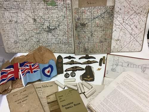 Stunning RFC/RAF group come into work