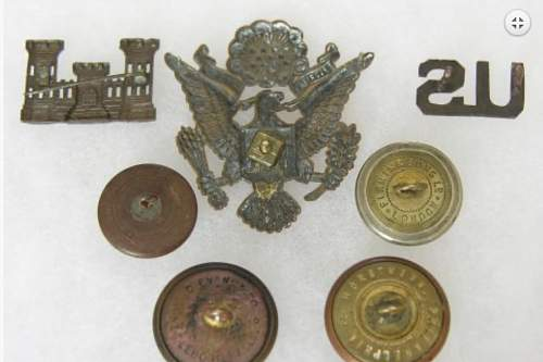 WW1 US officers cap badge authenticity check