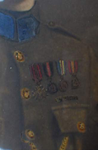 A lucky survivor of the war