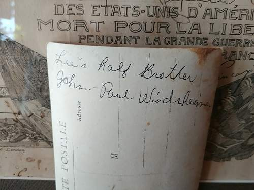 WWI KIA papers