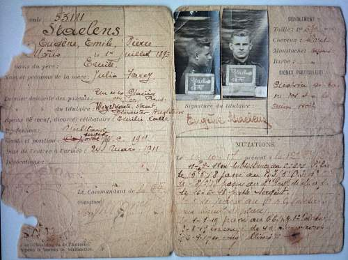 Translation of this Belgian army document