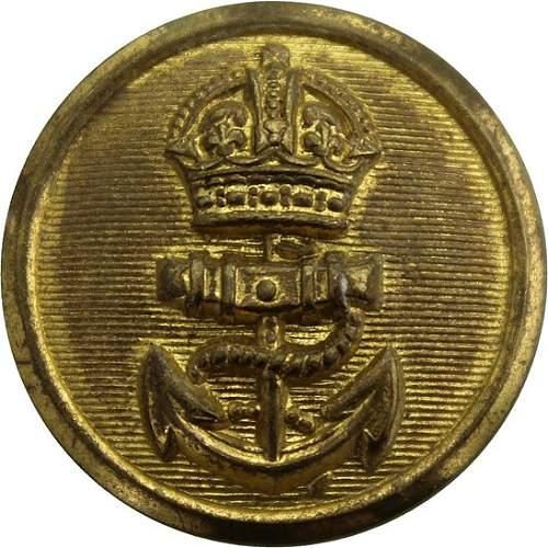 British Royal Navy button