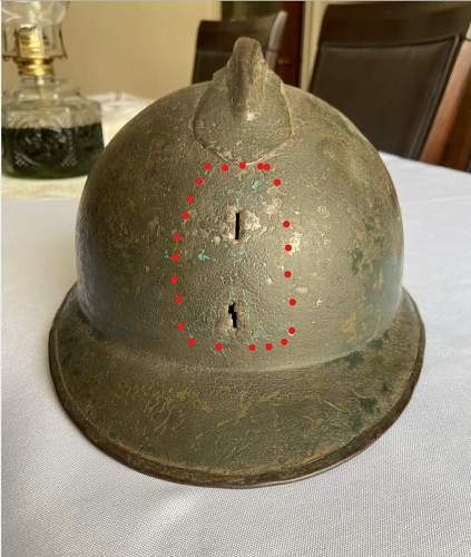 Recently Acquired French Helmet