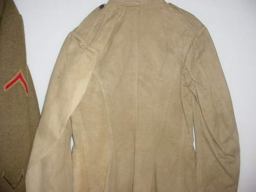 Church donation great coat and uniform
