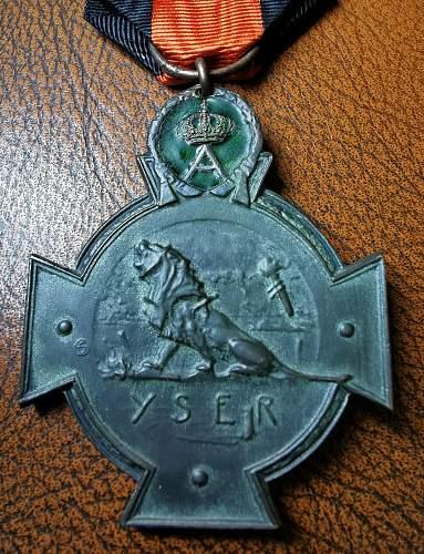 Belgian Yser Cross