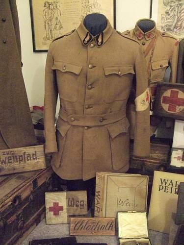 The WWI American Field Service uniform grouping of Waldo Peirce