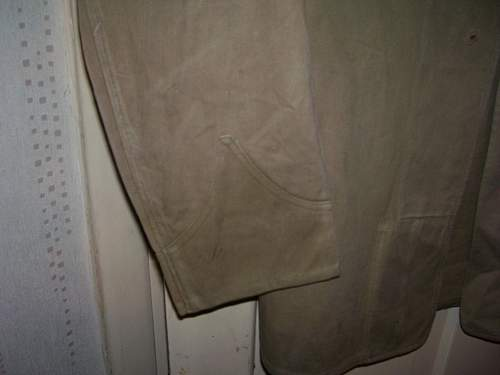 khaki drill tunic ID