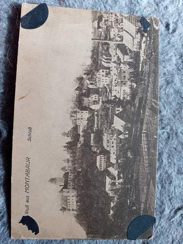 this is my only ww1 post card. it is special