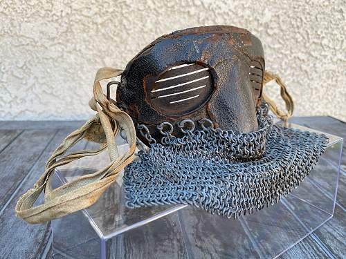 ww1 tank crew mask