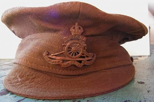 WW1 Royal Garrison Artillery uniform