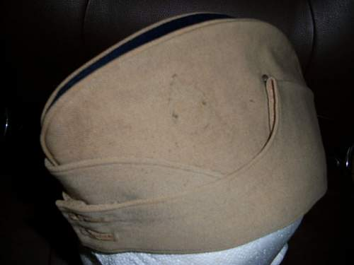 To identify possible ww1 field service cap