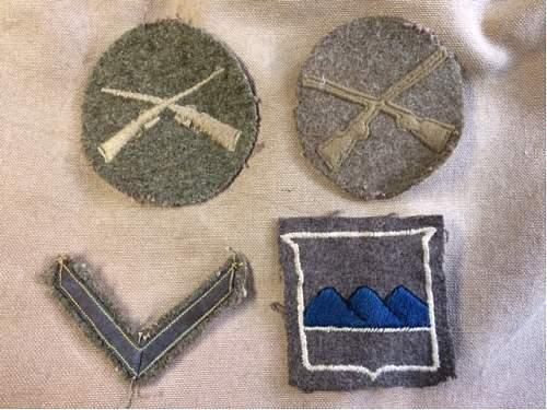 Named 80th Division Uniform