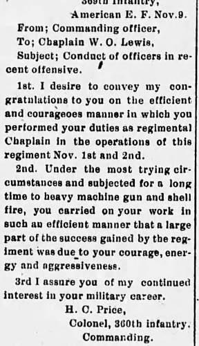WW1 Chaplain tunic